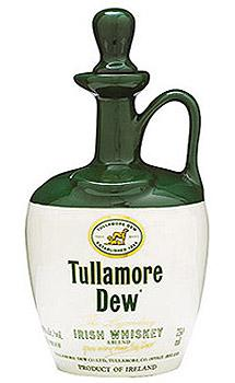 Tullamore Dew Irish Whiskey Crock Bottle